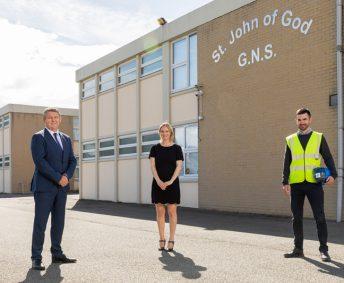Facilitating a safe return for St. John of Gods National School Artane